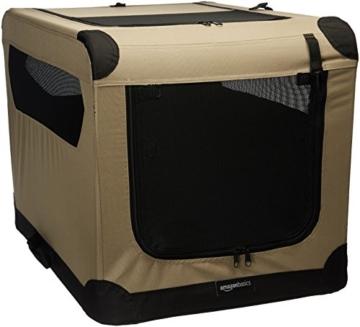 AmazonBasics - Hundekäfig, weich, faltbar, 76 cm - 1