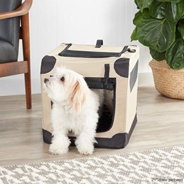 AmazonBasics - Hundekäfig, weich, faltbar, 76 cm - 2