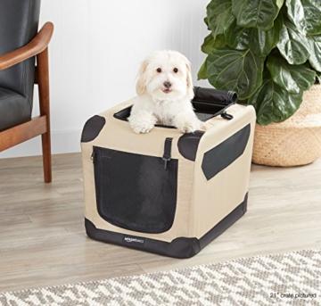 AmazonBasics - Hundekäfig, weich, faltbar, 76 cm - 3