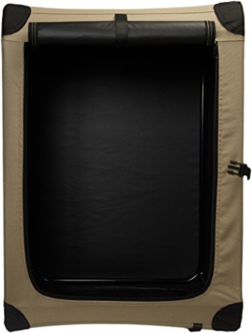 AmazonBasics - Hundekäfig, weich, faltbar, 76 cm - 5
