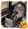 Bee more dog 2-in-1 Hund Autositzbezug als Hundekorb oder Schondecke für Vordersitz, abwaschbarer und rutschfester Sitzbezug mit Gurt für alle Autos - 1