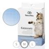 Bella & Balu Katzennetz inkl. Haken, Dübel, Rundumseil und Anleitung – Transparentes Schutznetz für Katzen zur Absicherung von Balkon, Terrasse, Fenster und Türen (transparent | 8 x 3 m) - 1