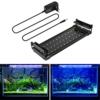 BELLALICHT Aquarium LED Beleuchtung, Aquariumbeleuchtung Lampe Weiß Blau Licht 6W mit Verstellbarer Halterung für 30cm-45cm Aquarium - 1