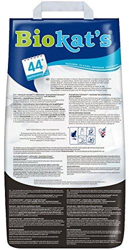 Biokat's Diamond Care Multicat Fresh Katzenstreu mit Duft | staubfreie Klumpstreu mit Aktivkohle und Cotton Blossom Duft | 1 Sack (1 x  8 L) - 2
