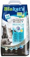 Biokat's Diamond Care Multicat Fresh Katzenstreu mit Duft | staubfreie Klumpstreu mit Aktivkohle und Cotton Blossom Duft | 1 Sack (1 x 8 L) - 1