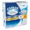 Catsan Katzenstreu Active Fresh, Klumpstreu mit Zusatz von Duftstoffen, natürliche, weiße Körnchen für zuverlässige Klumpenbildung, 2 Packungen (2 x 8 l) - 1