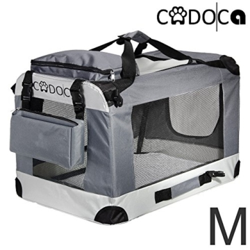 Deuba Hundetransportbox CADOCA faltbar - Größe M - 1