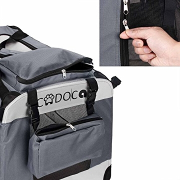 Deuba Hundetransportbox CADOCA faltbar - Größe M - 6