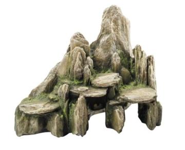 Europet Bernina 234-104576 Decor-Stein Slate 25.5 x 15.5 x 20 cm Farbe: Moos - 1