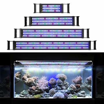 Good FTALGS Aquarium LED Beleuchtung Aquariumbeleuchtung Weiß Blau Rot Grün Von  Licht (80Au003d29.5u0027