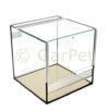 Glas Terrarium 30x30x30 Glasterrarium Belüftung Reptielien Fall Guillotine Tür - 1