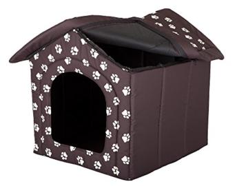 HobbyDog Hundehütte, Größe 4, 60x55cm, aushaltbares Codurastoff, waschbar bei 30 ° C, Beständigkeit gegen Kratzer, EU-Produkt - 4