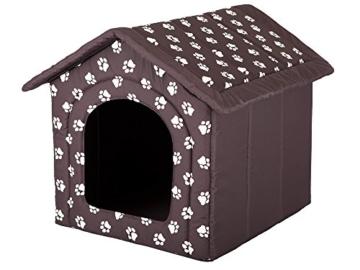 HobbyDog Hundehütte, Größe 4, 60x55cm, aushaltbares Codurastoff, waschbar bei 30 ° C, Beständigkeit gegen Kratzer, EU-Produkt - 1