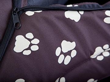 HobbyDog Hundehütte, Größe 4, 60x55cm, aushaltbares Codurastoff, waschbar bei 30 ° C, Beständigkeit gegen Kratzer, EU-Produkt - 5