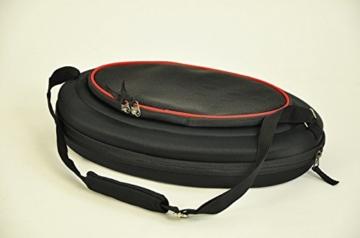 nanook Faltbare Transporttasche/Transportbox für Katze, Kaninchen und Kleine Hunde, 43 cm, Schwarz - 5