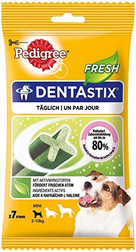 Pedigree Denta Stix Fresh Hundeleckerli für kleine Hunde, Kausnack gegen Zahnsteinbildung, Für gesunde Zähne und einen frischen Atem, 1er Pack (1 x 10 Pack) - 5