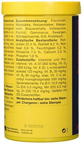 Sera 01822 reptil Professional Carnivor 330 g - Fleisch fressende Reptilien ernähren wie die Profis - 5
