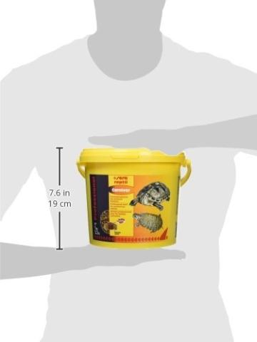 sera 01823 reptil Professional Carnivor 3,8 L(1000g) - Fleisch fressende Reptilien ernähren wie die Profis - 7