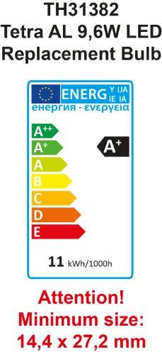 Tetra AquaArt Discovery Line LED Aquarium-Komplett-Set 60 Liter anthrazit (inklusive LED-Beleuchtung, Tag- und Nachtlichtschaltung, EasyCrystal Innenfilter und Aquarienheizer, ideal für Zierfische) - 11