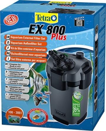 Tetra Aquarien Außenfilter EX 800 Plus (leistungstarker Filter für Aquarien von 100-300 L, Komplettset mit Ansaughilfe zum Schnellstart und Filtermedien) - 2