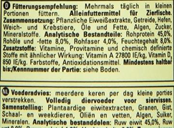 Tetra Guppy (Hauptfutter für Guppys und andere lebendgebärende Zahnkarpfen, Miniflocken mit Farberstärkern), 250 ml Dose - 2