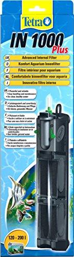 Tetra IN 1000 plus Innenfilter (zur biologischen und chemischen Filterung, stufenlose Regulierung der Durchflussgeschwindigkeit, geeignet für Aquarien mit 120 - 200 Liter) - 1