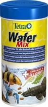 TetraWafer Mix Hauptfutter (in Waferform für alle Bodenfische und Krebse, ausgewogenes Premiumfutter mit Shrimps, Spirulina-Algen für verbessertes Immunsystem), 250 ml Dose - 1