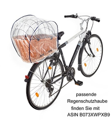 hundekorb fur fahrrad finest bello fr aus weide mit und. Black Bedroom Furniture Sets. Home Design Ideas