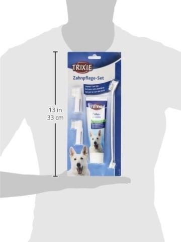 Trixie 2561 Zahnpflege Set, Hund, 1 Set - 3
