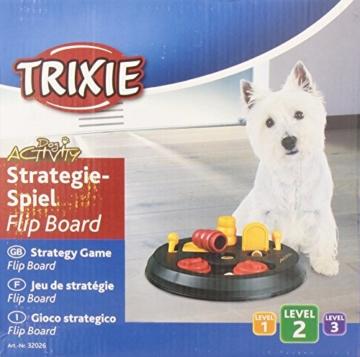 Trixie 32026 Dog Activity Flip Board Strategiespiel, für Hunde, 23 cm - 6