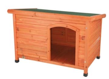 Trixie 39553 natura Flachdach-Hundehütte, L: 116 × 82 × 79 cm - 7