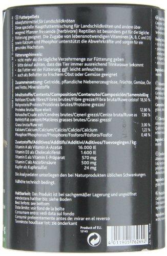 Trixie 76269 Futterpellets, Landschildkröten 1000 ml/ 600 g - 5