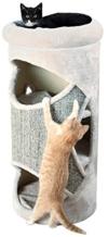 Trixie Cat Tower Gracia, 85 cm, lichtgrau/grau-meliert - 1