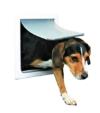 Trixie Pet Products 2-Wege-Tür Hund, Small - Medium, weiß - 1