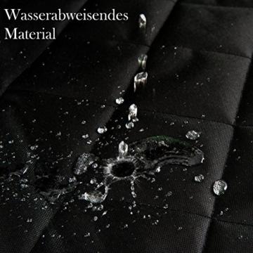 VIIRKUJA Hundedecke Auto | Wasserabweisend, Waschbar, Rutschfest und in universal Größe | Rückbank oder Kofferraum | Für große und Kleine Hunde auf Dem Autositz | Autoschondecke - 5
