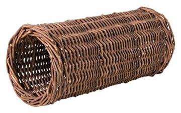Weidentunnel für Kleintiere, für Kaninchen (Durchmesser 20 cm/Länge 38 cm) - 1