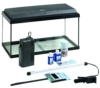 Dehner Aqua Aquarium Starterset 60, ca. 61 x 37 x 31 cm, inkl. Futter und Pflegeprodukten - 1