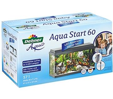 Dehner Aqua Aquarium Starterset 60, ca. 61 x 37 x 31 cm, inkl. Futter und Pflegeprodukten - 3