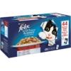 FELIX So gut wie es aussieht, Jumbopack Katzennassfutter, Geschmacksvielfalt vom Land in Gelee Jumbo-Pack (44 x 100 g) - 1