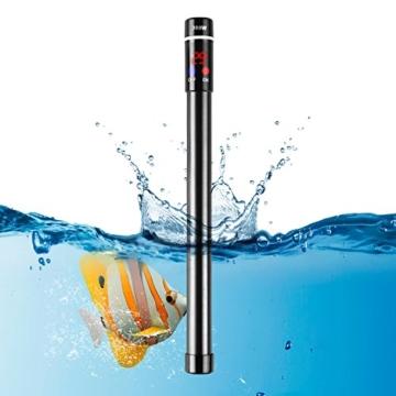 MVPOWER Aquarium Heizer Regelheizer 300W Heizstab mit LED-Anzeige für Süß- und Meerwasser Aquarien - 1