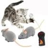 Cisixin Elektrische Drahtlose Fernbedienung Ratte Maus Spielzeug Haustier Katzen Spielzeug Maus für Haustiere, 11,15in - 1