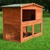 zooprinz Kaninchenstall 23 Hasenkäfig - HASENHAUS-M - Stall für Außenbereich (GRÖßE: (M)   für Kleintiere: Hasen, Kaninchen, Meerschweinchen usw.) - 1