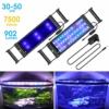 BELLALICHT Aquarium LED Beleuchtung mit verstellbarer Halterung, Timer, dimmbare Aquariumbeleuchtung Weiß Blau Rot Grün - 1