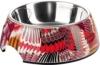 HUNTER TROPICAL Melamin-Napf, Futternapf, Trinknapf, für Hunde und Katzen, mit Edelstahlnapf, 160 ml, rot - 1
