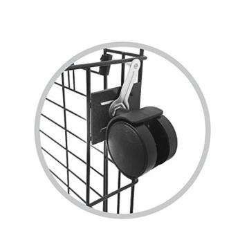 Simply Maison XL | Hundekäfig | Transportbox | Drahtkäfig mit 2 Türen, schraubbaren Rollen und Tragegriff | ( 107cm x 72cm x 81,5cm ) - 6