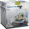 Tetra AquaArt Explorer Line Aquarium-Komplett-Set 30L, Schwarz - 1