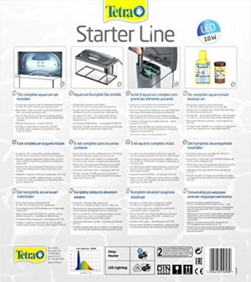 Tetra Regular Starter Line Aquarium-Komplettset mit LED-Beleuchtung stabiles 54 Liter Einsteigerbecken mit Technik, Regular Starterline, Futter und Pflegemitteln - 5
