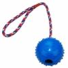 AEITPET Hunde Ball mit am Seil hundeball mit Schnur Naturkautschuk hundespielzeug Ball hundeball unzerstörbar Bälle Spielzeug am Seil für Hunde Kauspielzeug aus Naturgummi Hunde Spielzeug - 1