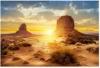 Aquarium Poster, Sonne und Wüste Stil Aquarium Terrarium Hintergrund Poster Verdicken PVC Klebstoff Statisch Haften Tapete Aufkleber (91 * 41 cm) - 1
