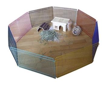 Kerbl 82700 Freigehege für Hamster, Mäuse, Kleintiere, 8 Elemente 34 x 23 cm - 1